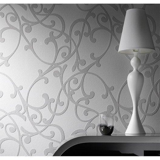 Rev tement de r novation sur intiss 3d erismann 4000 01 - Peindre fibre de verre murale ...