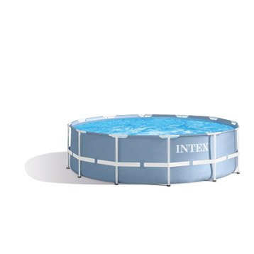 Piscine piscine hors sol gonflable tubulaire leroy for Piscine intex 3 66