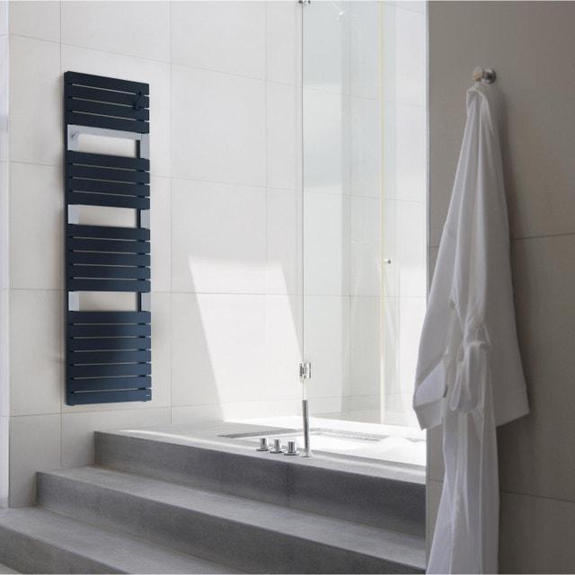 une douche l 39 italienne au style vintage industriel. Black Bedroom Furniture Sets. Home Design Ideas