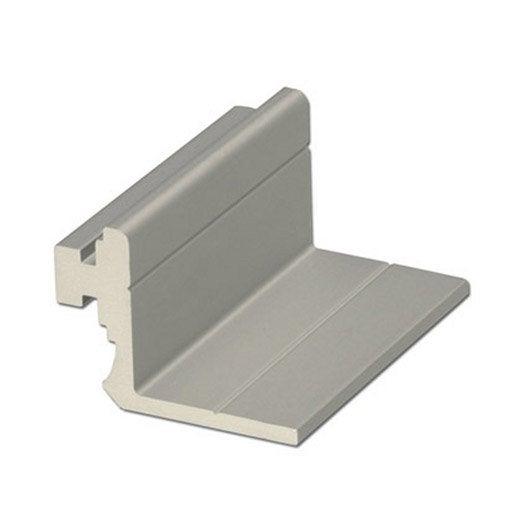 Equerre en aluminium anodis long 1000 x larg 23 5 mm for Peindre aluminium anodise