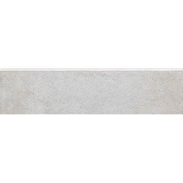 Lot de 4 plinthes Grotte blanc, l.7.5 x L.30 cm