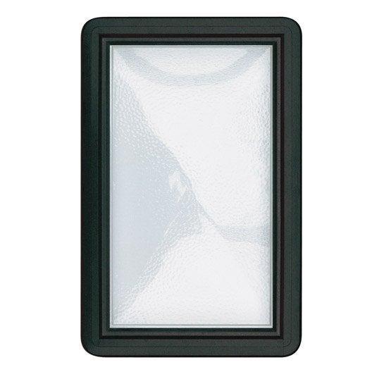 hublot pour porte de garage coulissante 28 mm leroy merlin. Black Bedroom Furniture Sets. Home Design Ideas