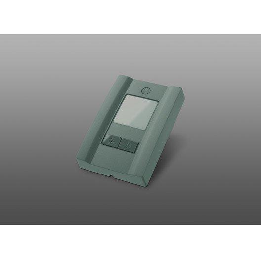 Bouton poussoir 3 fonctions pour ecostar pour porte de for Ecostar porte de garage
