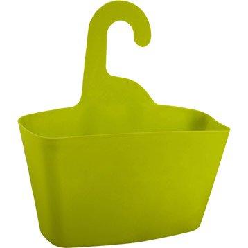 Panier de bain / douche Play à suspendre au combiné, jaune anis n°3
