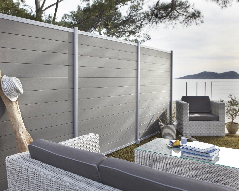 grillage canisse panneau cl ture et palissade leroy merlin. Black Bedroom Furniture Sets. Home Design Ideas