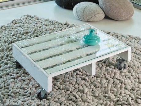 Fabriquer une table basse roulettes leroy merlin - Comment fabriquer une table basse ...