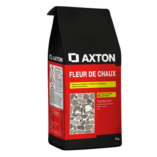 fleur de chaux poudre blanc axton 4 kg leroy merlin. Black Bedroom Furniture Sets. Home Design Ideas