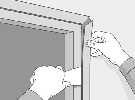 Comment agrandir une ouverture dans une cloison leroy for Encadrement de porte leroy merlin