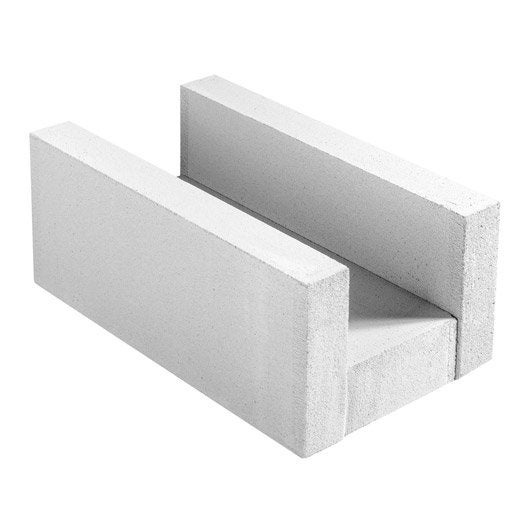 Bloc b ton cellulaire ytong leroy merlin for Garage bloc beton
