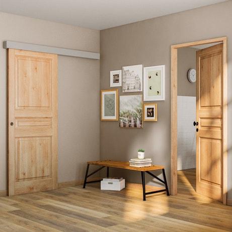 Une entrée en bois authentique étincelante