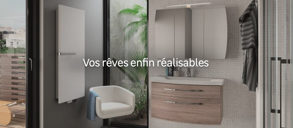 meuble salle de bains de luxe salle de bain design au meilleur prix leroy merlin. Black Bedroom Furniture Sets. Home Design Ideas