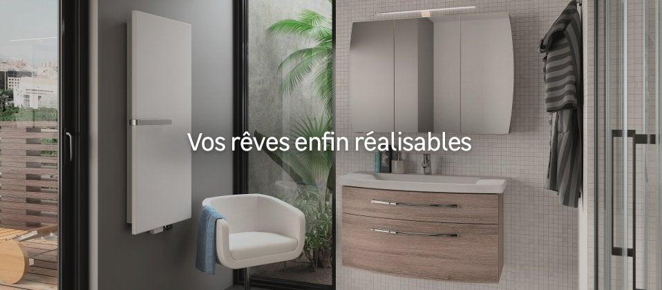 Meuble salle de bains de luxe salle de bain design au - Produits salle de bain ...