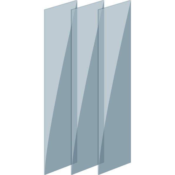 verre pour cloison de s paration indus d poli leroy merlin. Black Bedroom Furniture Sets. Home Design Ideas