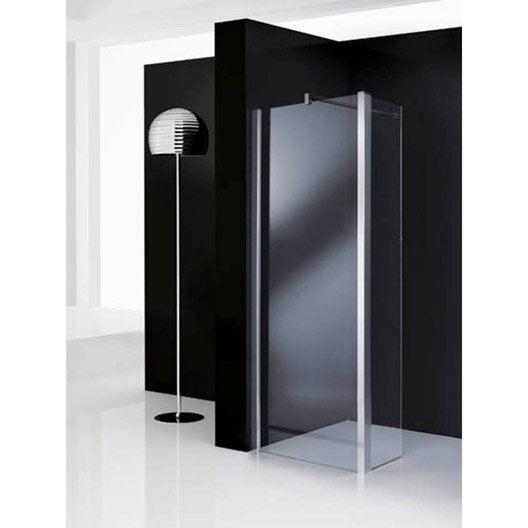 Paroi de douche l 39 italienne elis e paroi fixe profil for Paroi fixe de douche 90 cm