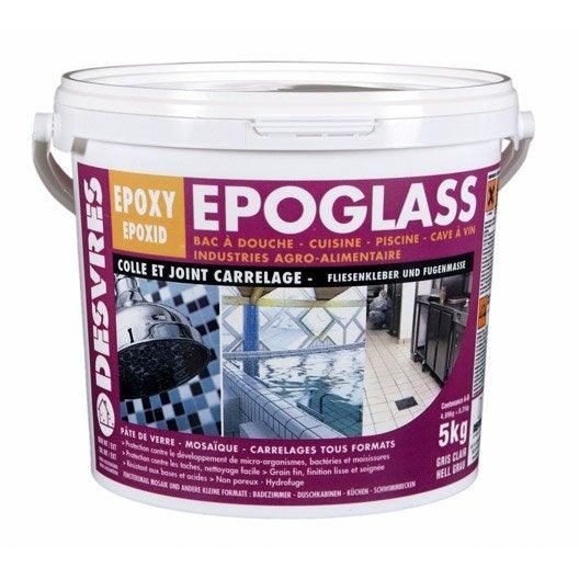 Colle et joint poxy epoglass pour carrelage et mosa que for Joint de carrelage epoxy