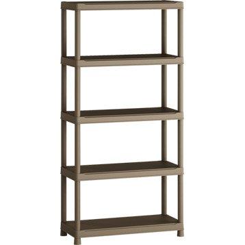 etag re et armoire utilitaire armoire m tallique rangement garage leroy merlin. Black Bedroom Furniture Sets. Home Design Ideas