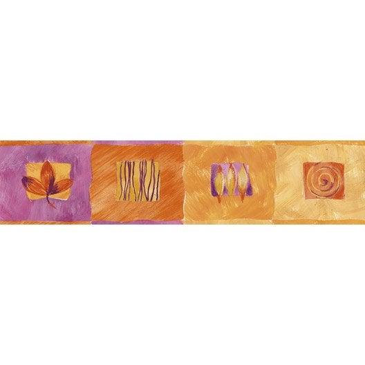Frise vinyle adh sive square longueur 10 m leroy merlin - Leroy merlin frise adhesive ...