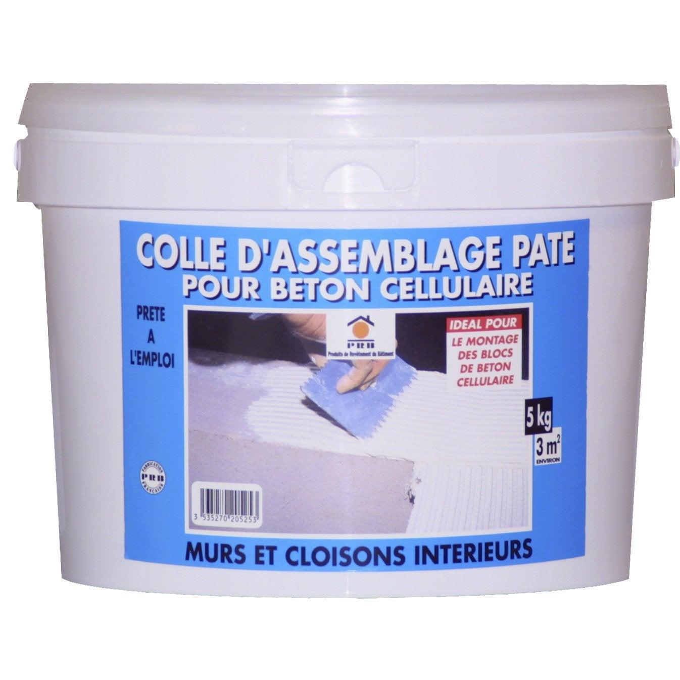 Colle Pour Béton Cellulaire PRB, 5 Kg