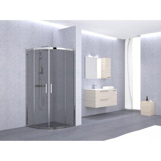 porte de douche coulissante angle 1 4 de cercle x l. Black Bedroom Furniture Sets. Home Design Ideas