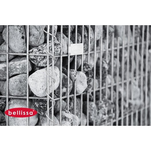 gabion a spirales 100x50x50cm leroy merlin. Black Bedroom Furniture Sets. Home Design Ideas