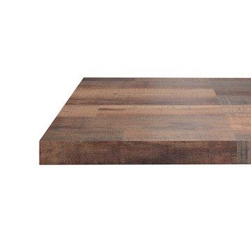 plan de travail stratifi bois inox leroy merlin. Black Bedroom Furniture Sets. Home Design Ideas