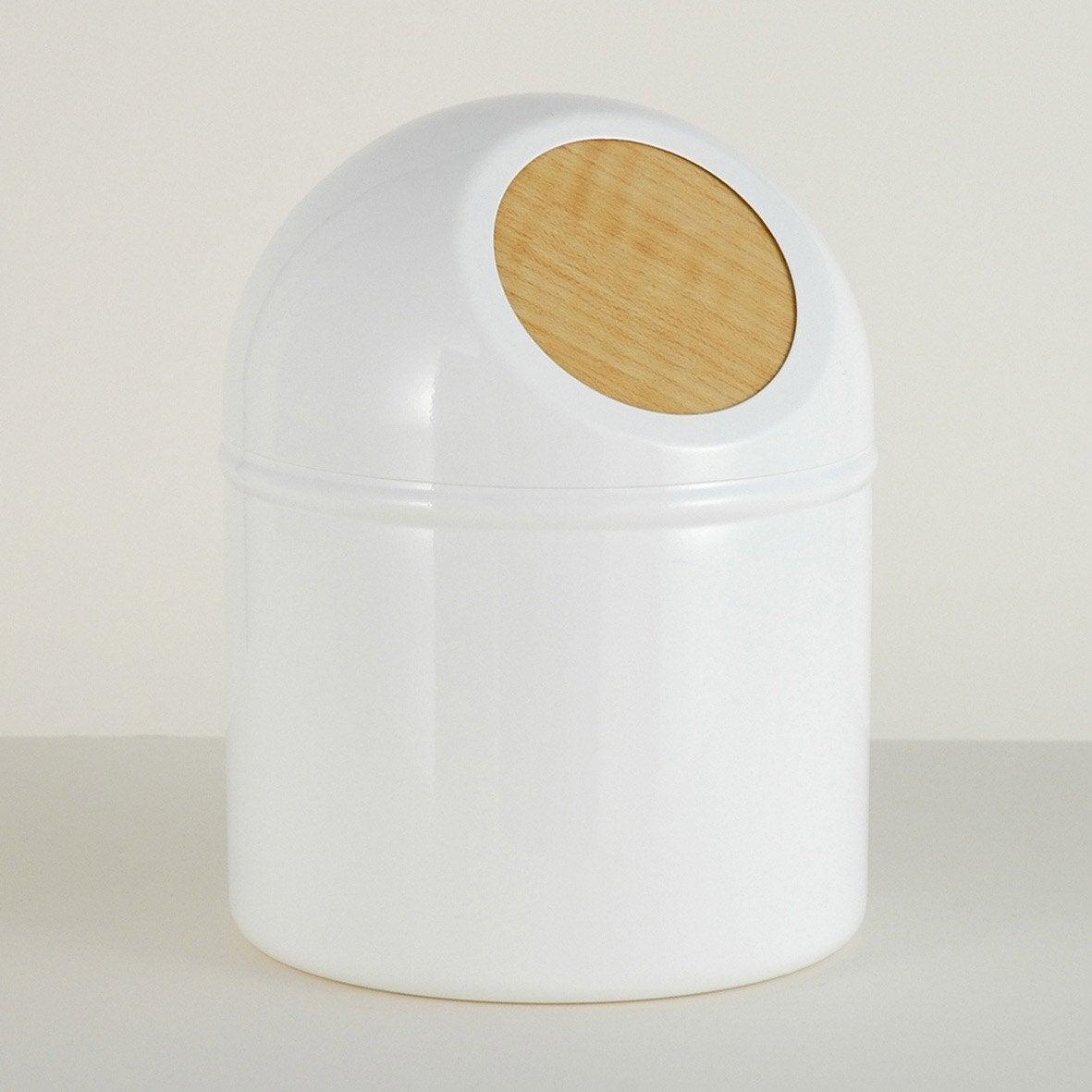 Mini poubelle métal Scandi, white n°0