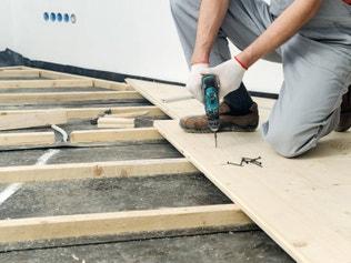 comment r aliser le solivage d 39 un plancher d 39 tage. Black Bedroom Furniture Sets. Home Design Ideas