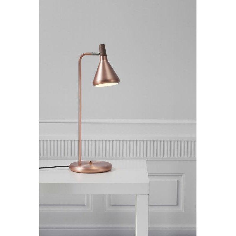 Lampe Bureau Poser Cuivré De LedGu10 À Float Nordlux Rj54ALq3