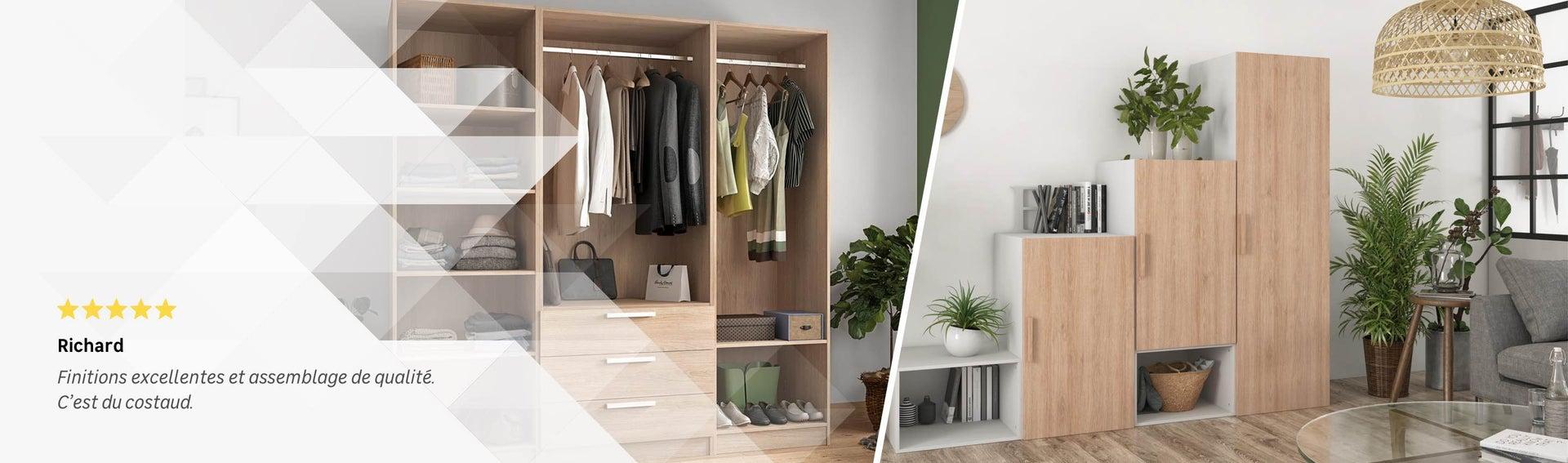 Ajouter Une Étagère Dans Un Placard dressing, aménagement placard et meuble de rangement