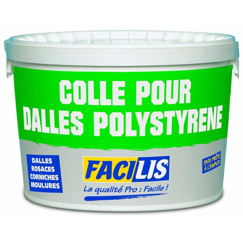 Corniche Polystyrène Pour Led colle dalle, rosace, moulure de plafond prête à l'emploi, 7 kg