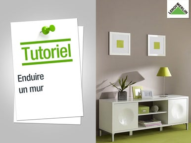 pr parer et enduire les murs leroy merlin. Black Bedroom Furniture Sets. Home Design Ideas