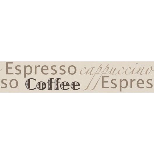 Frise Vinyle Adh Sive Espresso L 5 M X Cm Leroy Merlin