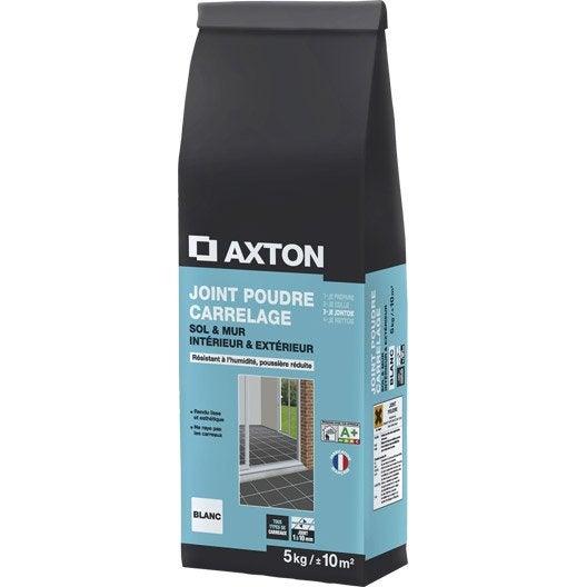 Joint en poudre pour carrelage et mosa que axton blanc 5 for Produit pour nettoyer joint de carrelage