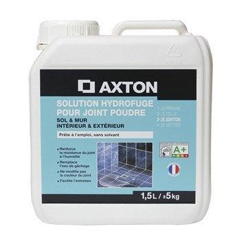 Solution hydrofuge tout type de carrelage et mosaïque AXTON, incolore, 1,5 l