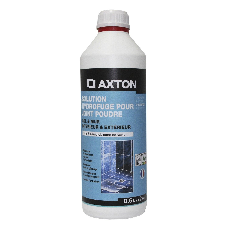 Solution Hydrofuge Tout Type De Carrelage Et Mosaïque AXTON, Incolore, 0,6 L