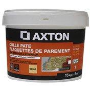 Colle en pâte pour plaquettes de parement AXTON, beige, 15 kg