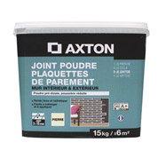 Joint poudre plaquette de parement AXTON, gris, 15 kg