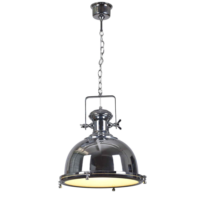 suspension e27 style industriel old burdi m tal chrome 1. Black Bedroom Furniture Sets. Home Design Ideas