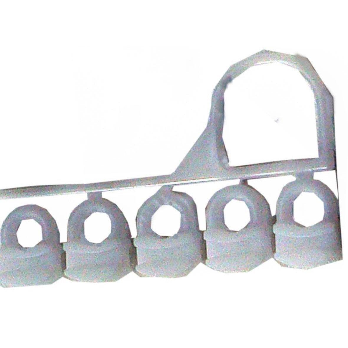 Curseurs tringle rideau acier blanc ib leroy merlin - Tringle a rideau cable acier ...