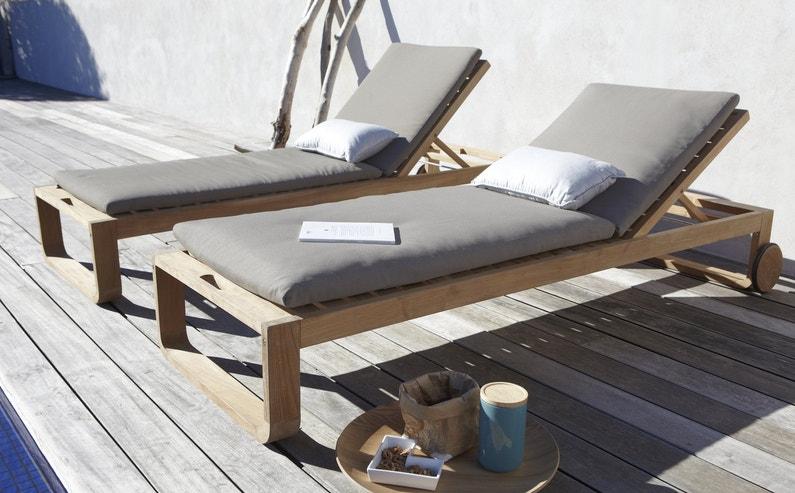 bain de soleil en bois leroy merlin. Black Bedroom Furniture Sets. Home Design Ideas