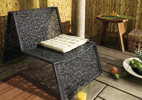 Un fauteuil design pour la terrasse