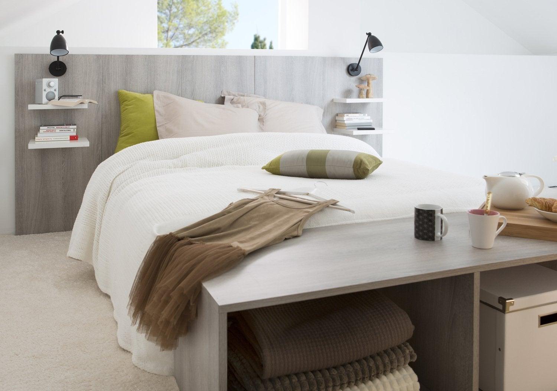 construire une table de chevet affordable construire une. Black Bedroom Furniture Sets. Home Design Ideas