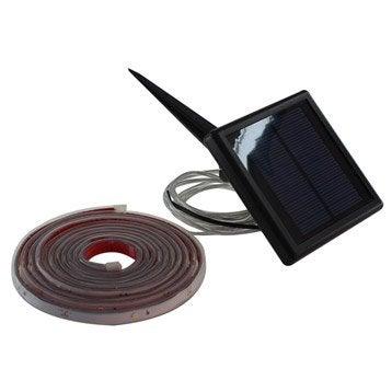 Ruban LED solaire Kumba 170 Lm noir INSPIRE