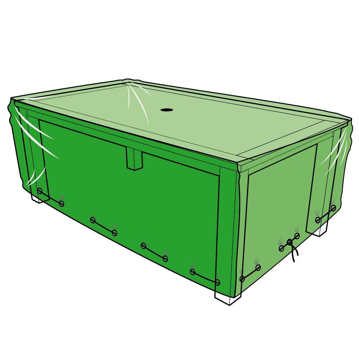Housse de protection pour table L.180 x l.110 x H.60 cm | Leroy Merlin