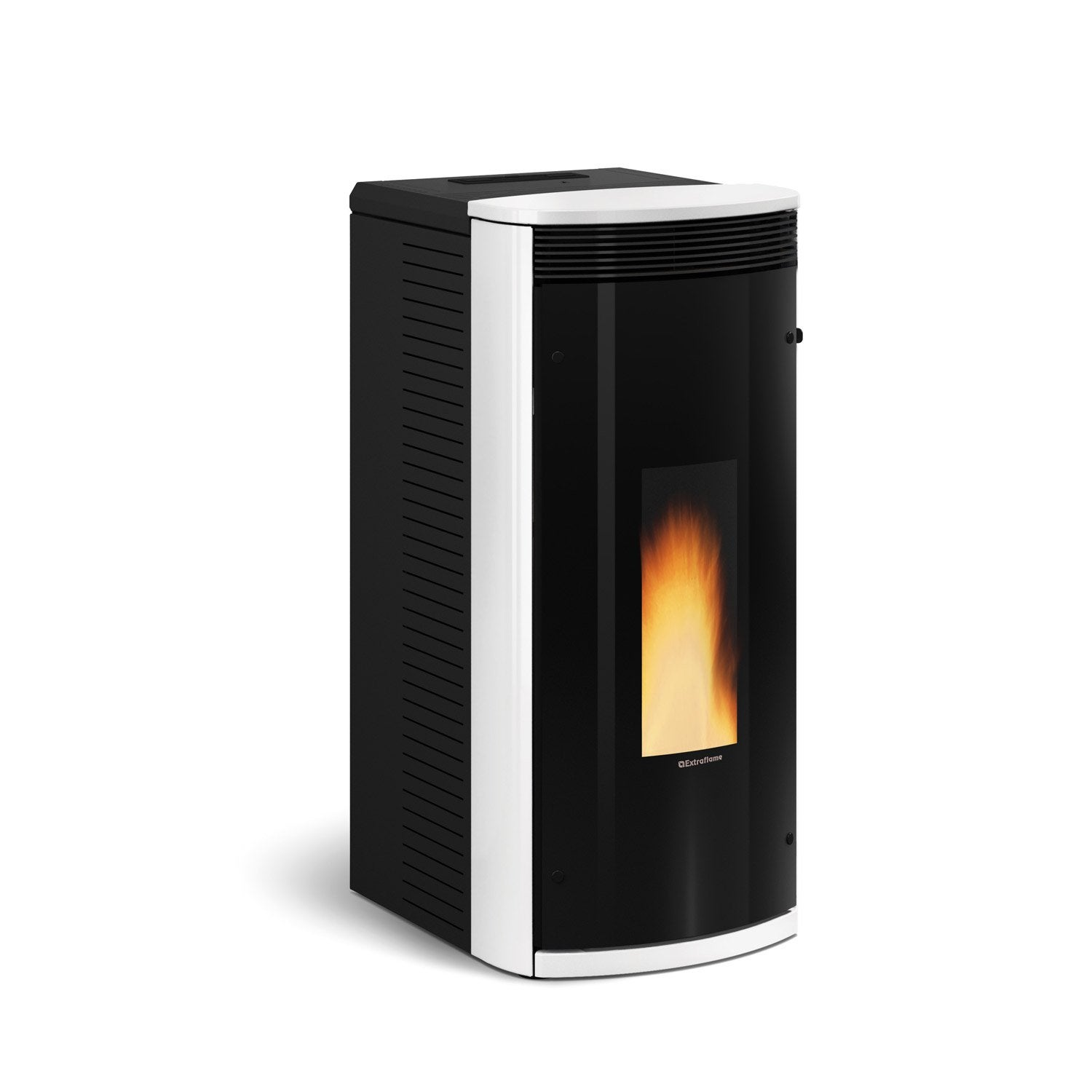 po le granul s extraflame sibilla plus blanc 8 2 kw. Black Bedroom Furniture Sets. Home Design Ideas