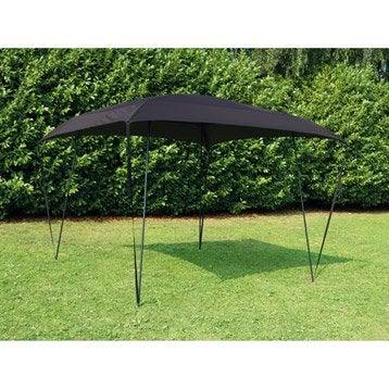 Tente autoportante Bayang, acier noire, 9 m²