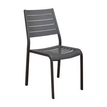 Chaise En Aluminium Sevilla Gris