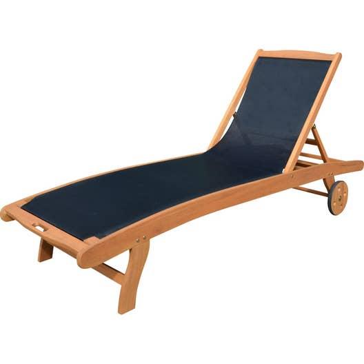 bain de soleil en bois aubagne bois clair leroy merlin. Black Bedroom Furniture Sets. Home Design Ideas