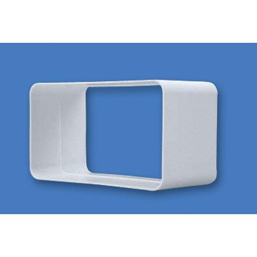 manchon rectangulaire rigide pvc s p mm mcr. Black Bedroom Furniture Sets. Home Design Ideas