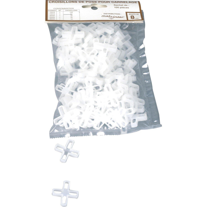 Croisillons épaisseur Mm Leroy Merlin - Carrelage épaisseur 6 mm